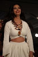 Meenakshi Dixit Walks the Ramp At Designer Nidhi Munim Summer Collection Fashion Week (14).JPG