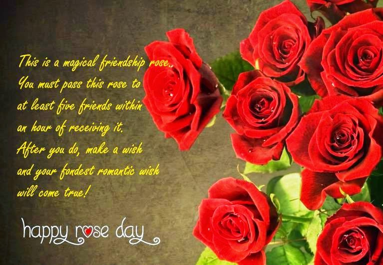 rose day wallpaper with quotes