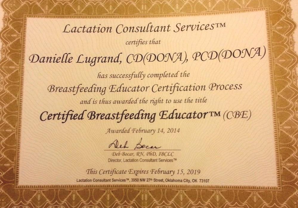 Lactation Consultant - Certified Lactation Specialist Course
