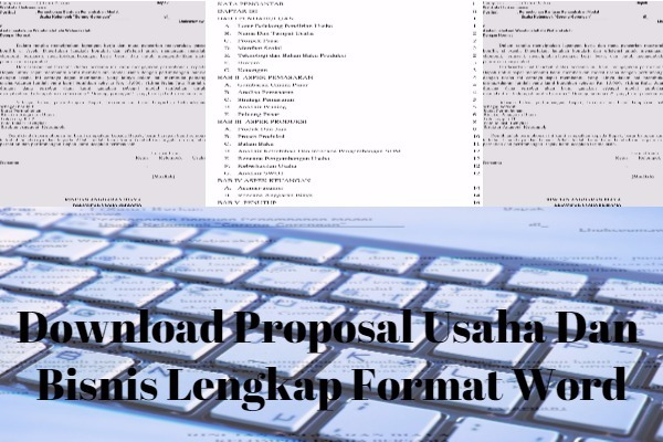 Download Proposal Usaha