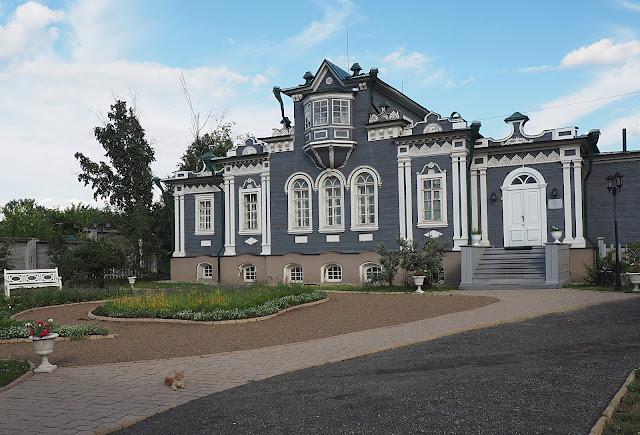 Иркутск, усадьба Трубецких (Irkutsk, Trubetskoy manor)