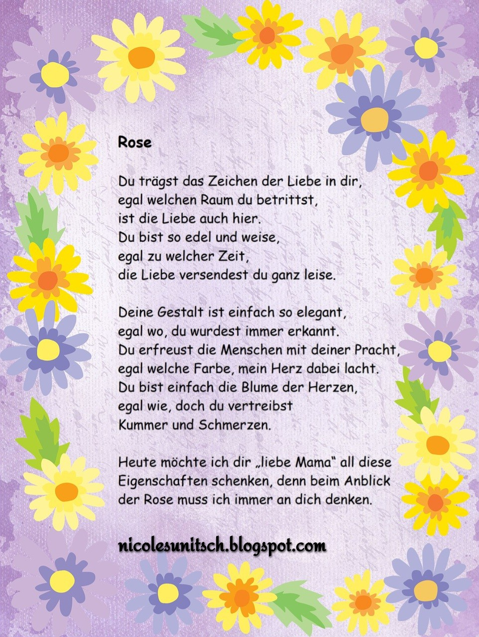 Gedichte Von Nicole Sunitsch Autorin April 2019