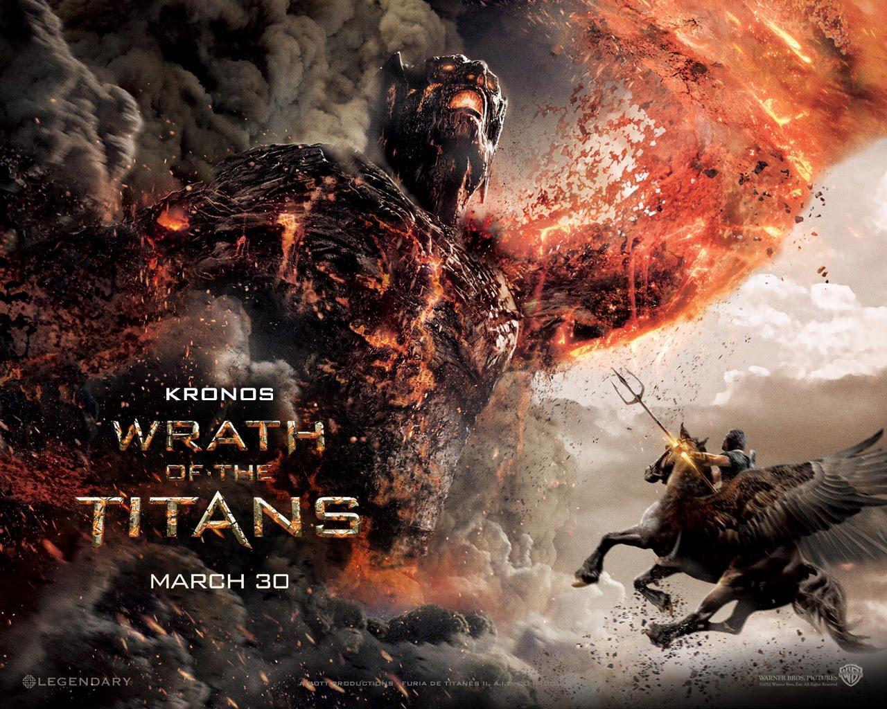 furia de titanes 2 wallpapers wrath of the titans