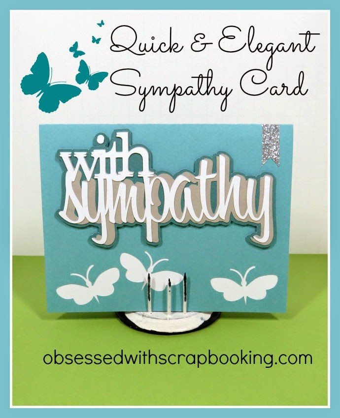 Close to My Heart, Cricut, Artfully Sent, card, sympathy, how to, Explore, CTMH