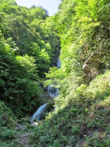 Karasawa Waterfall, Kiso, Nagano