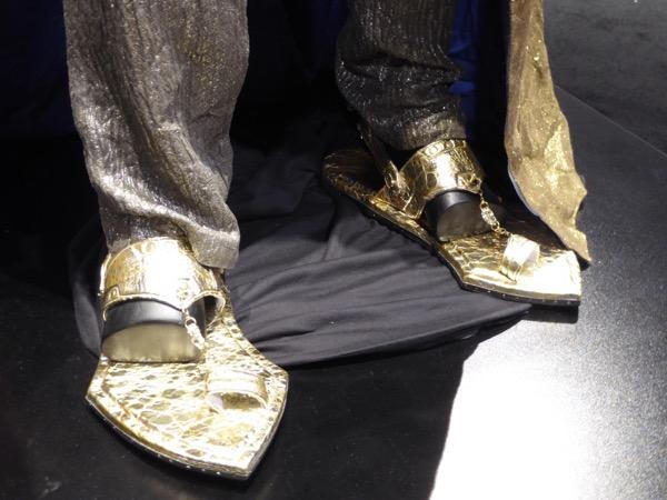 Thor Ragnarok Grandmaster costume sandals