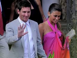 messi wedding picture