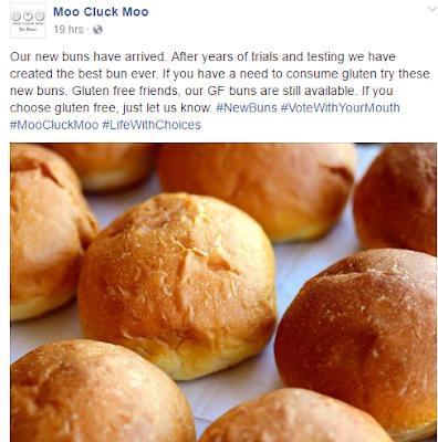 Moo Cluck Moo Gluten Announcement