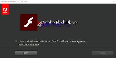 Adobe Flash Player 25.0.0.171 Offline Installer Terbaru