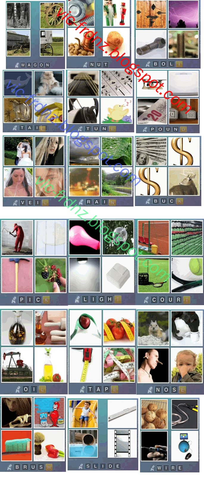4 Letters Part 2 4 Pics 1 Word Answers