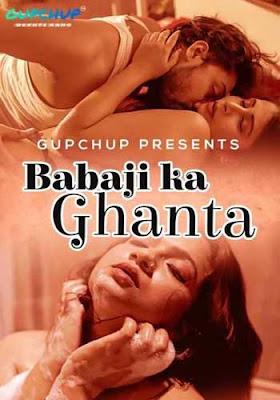 18+ Babaji Ka Ghanta 2020 GupChup Web Series XXX HDRipPoster
