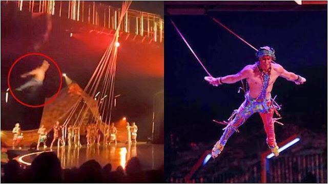 Pemain Akrobat Jatuh dan Tewas saat Beraksi di Depan Penonton, Begini Postingan Terakhirnya di IG