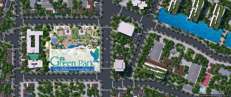 Mặt bằng dự án Green Park