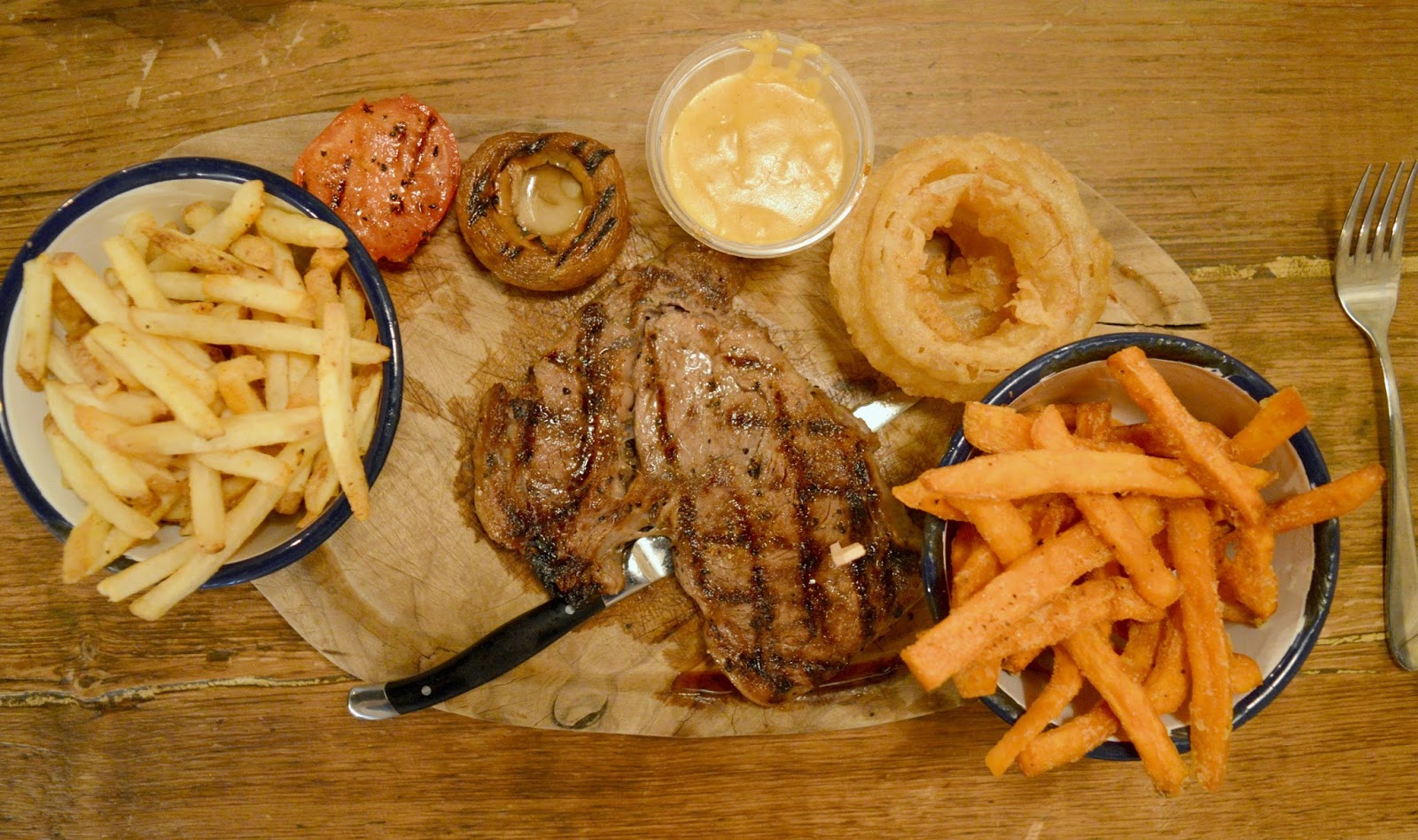 Steak at Longhorns Barbecue Smokehouse, Newcastle - New Menu Review