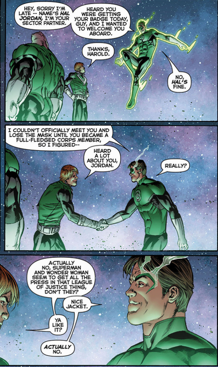 05e749201052 Do Guy Gardner and Hal Jordan Get Along