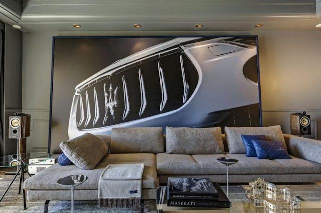 Famous Interior Designers Ludovica Palomba Serafini For Maserati Suite