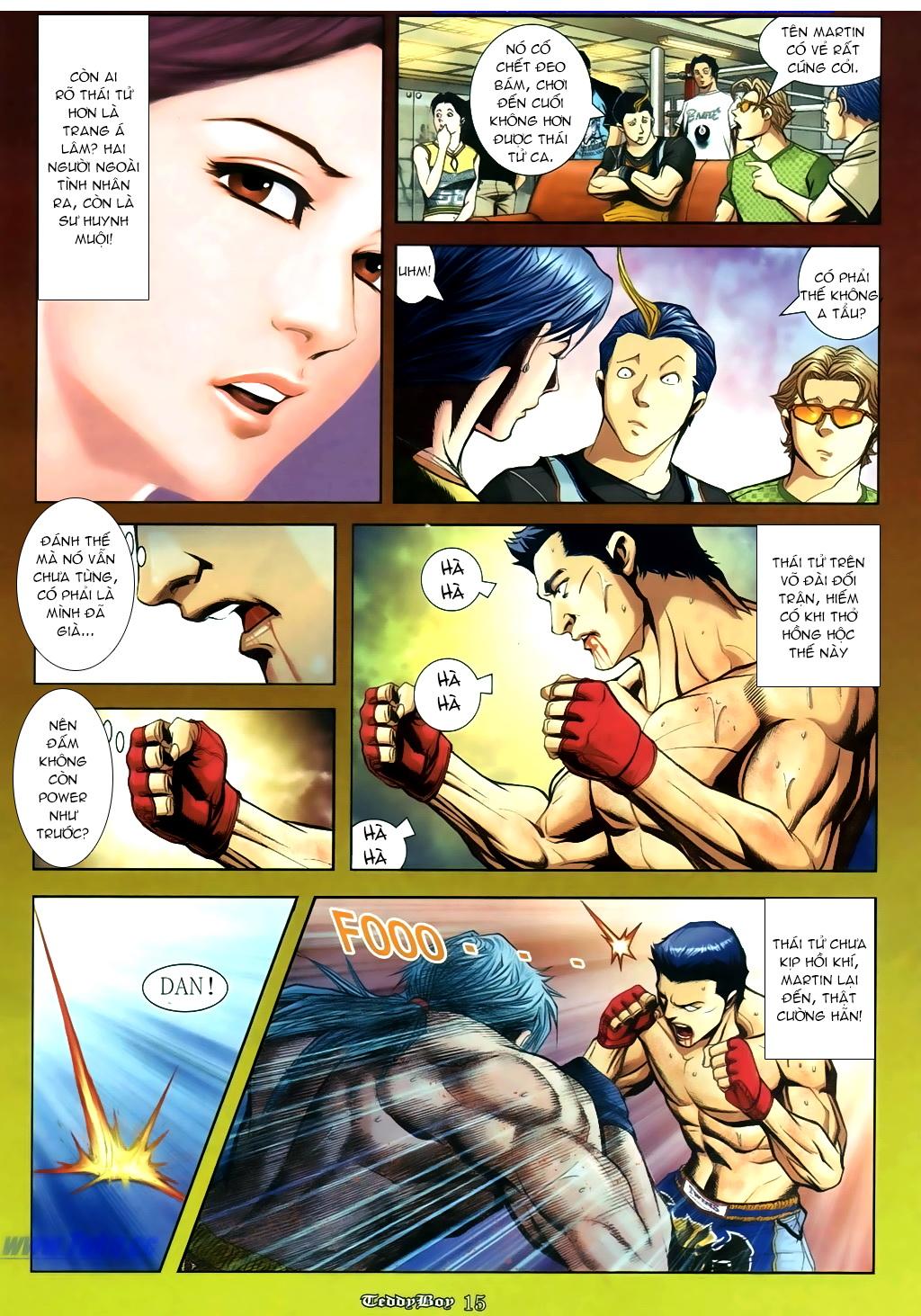 Người Trong Giang Hồ NetTruyen chap 889 - Trang 10