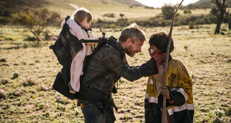 """Chica Aborigen de """"Cargo"""", la película de Netflix"""
