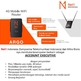 Lowongan Kerja Account Executive di Net1 Indonesia