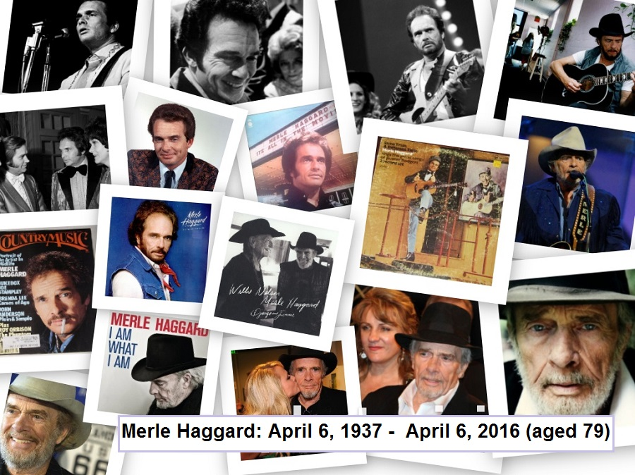 country routes news: Merle Haggard (1937 – 2016) dies aged