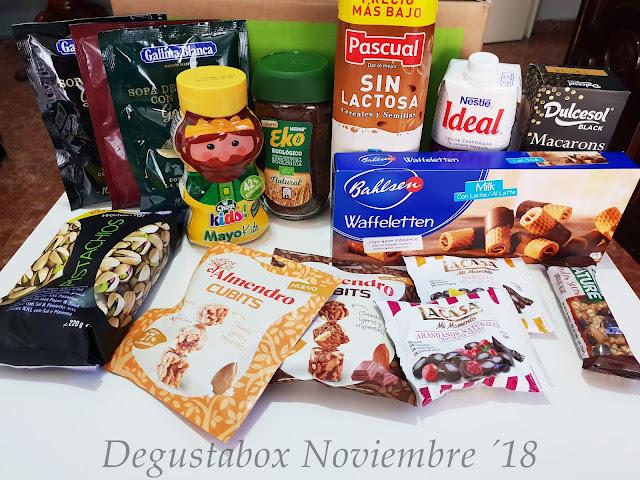 Degustabox Noviembre ´18