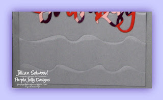 Simply Saturday Sketched Callenge June 17, Colour Challenge, Ruffled Dynamic Textured Impressions Embossing Folder