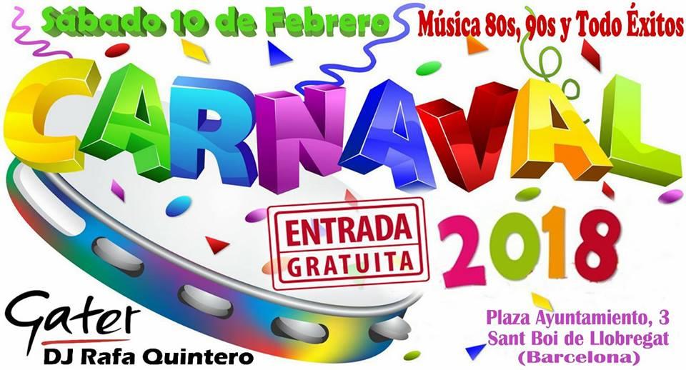 Flyer Carnaval 80s 90s Todo Éxitos