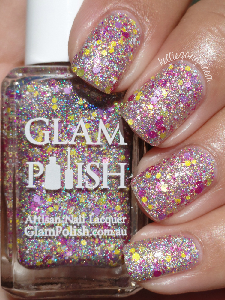 Glam Polish Wario Always Win!