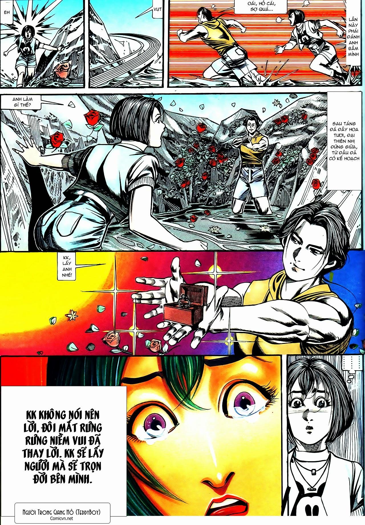 Người Trong Giang Hồ chapter 130: cô ta đến từ giang hồ trang 29