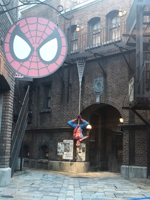 attraction Spider-Man Unversal Studios Japan