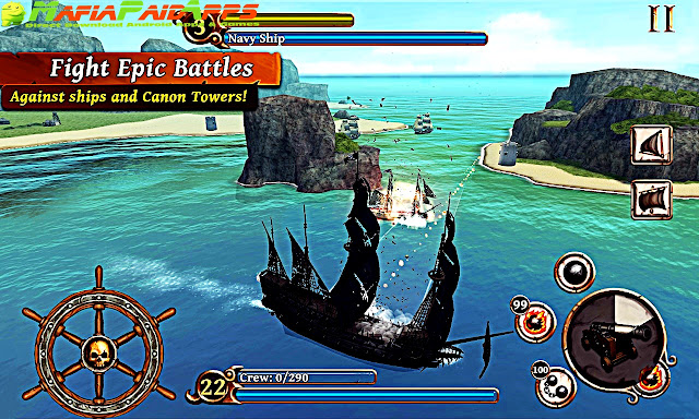 Ships of Battle Age of Pirates Apk MafiaPaidApps