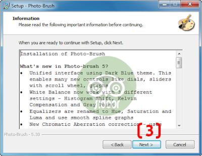 تحميل برنامج الكتابة على الصور photo brush