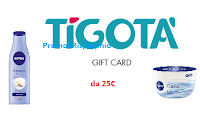 Logo Con Nivea vinci 500 card Tigotà da 25€