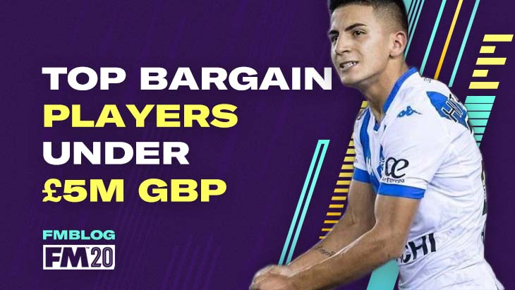 FM20 - Top 7 Bargains Buys for Big Clubs