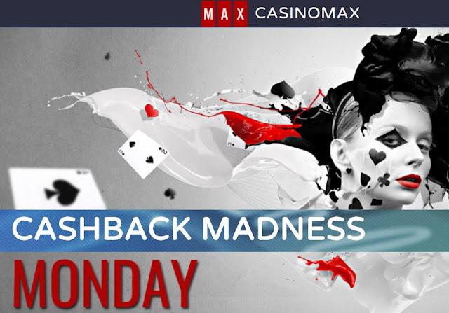 CasinoMax Monday Cashback
