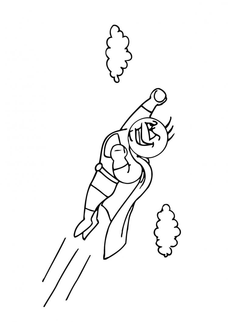 Best Superhero Coloring Pages