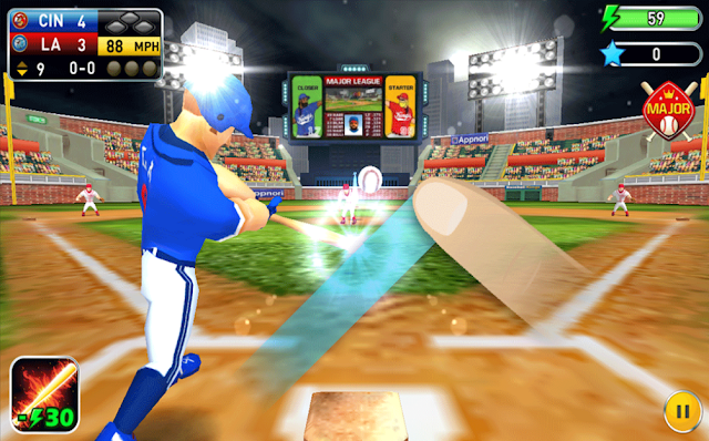 juegos de béisbol Android