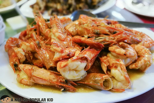 Buttered Prawns of Huey Ying Chinese Seafood Restaurant