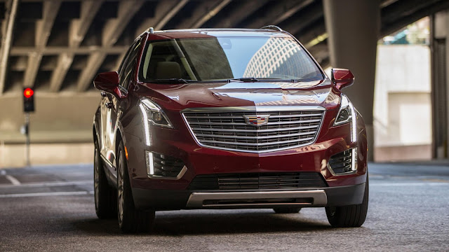 Review the Cadillac XT5, Caddy's Q5 and Macan rival