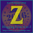 Z is for names beginning with or containing Z AtoZ challenge 2016