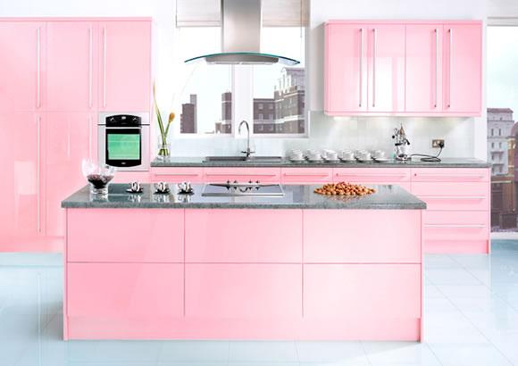Home Design Pink Kitchen Design Ideas For Girl