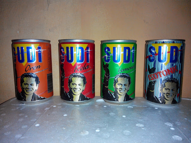 Air Tin Sudi yang pernah popular pada tahun 1989 hingga tahun 1991
