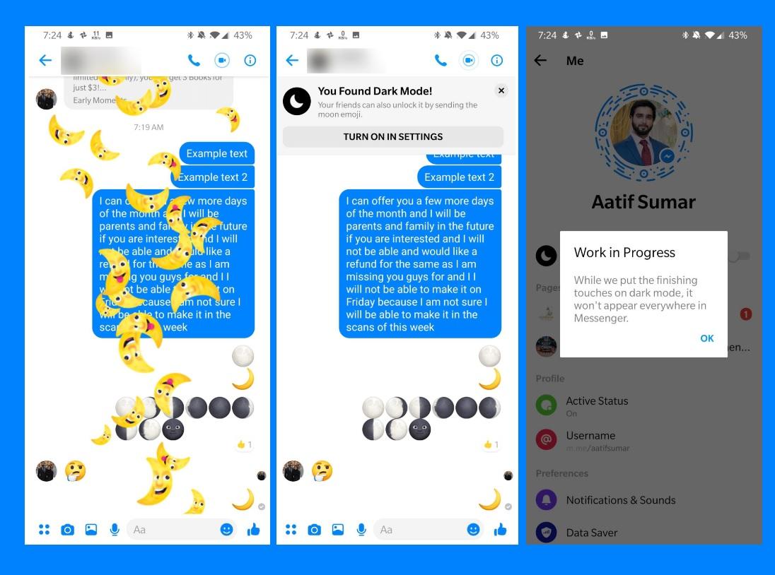 Dark facebook apk for iphone | Facebook Theme: Dark Facebook