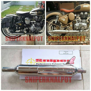 slip on royal enfield
