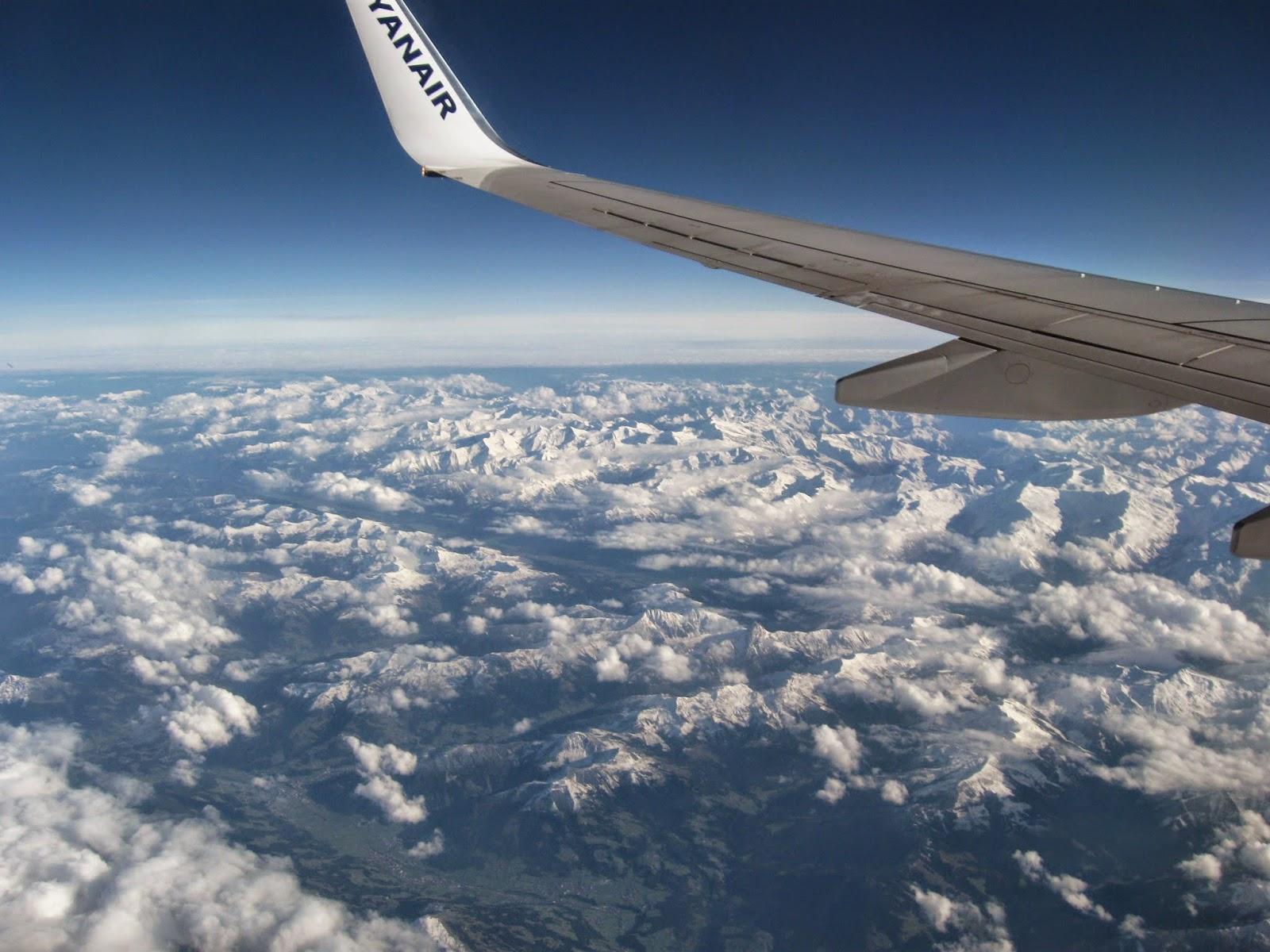 rozkład siedzeń w Ryanair przy oknie