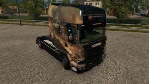RS EXC Longline WoT skin for  Scania RJL