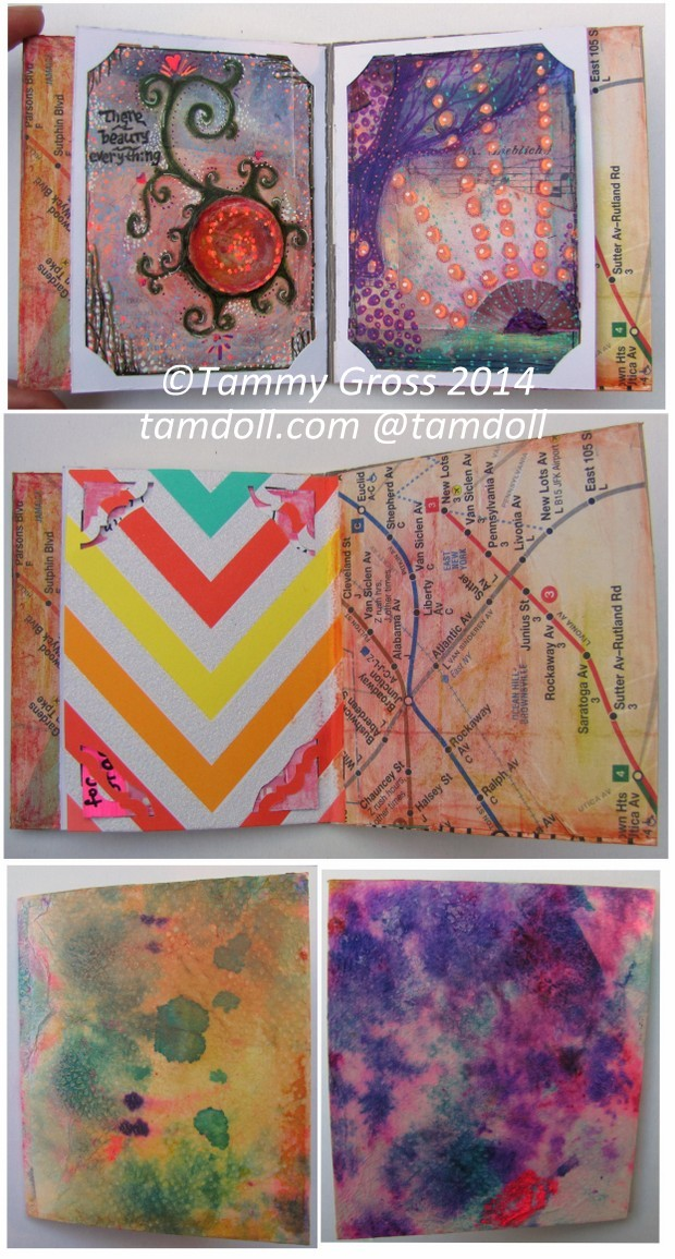 Tamdoll booklet Reduce, Reuse, Recycle ATC Swap
