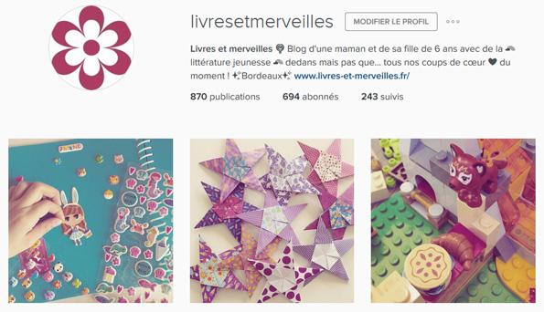 Livres et merveilles sur Instagram - Mois de mars 2016
