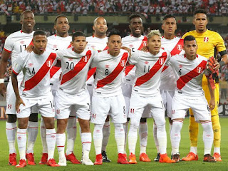 2018 FIFA World Cup Russia and Peru's Soccer Team