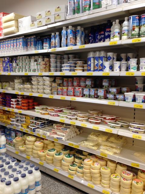 Özbaktat Supermarkt